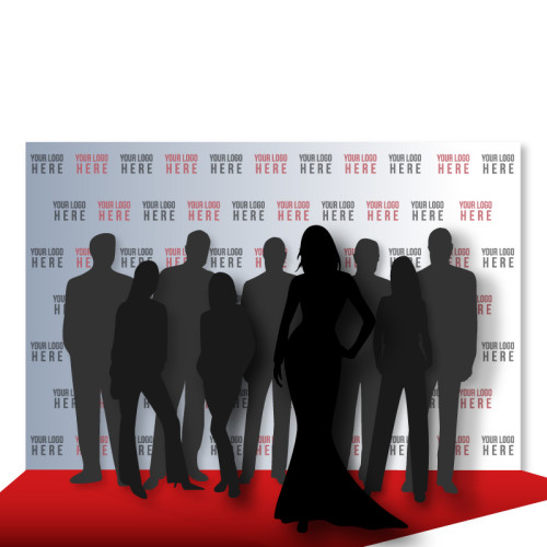 8' x 12' step and repeat