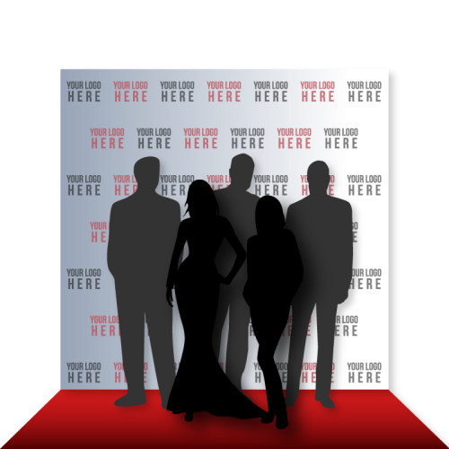 8' x 8' step and repeat