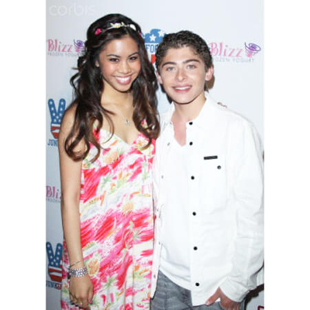 A step and repeat for Ryan Ochoa's 16th Birthday Bash
