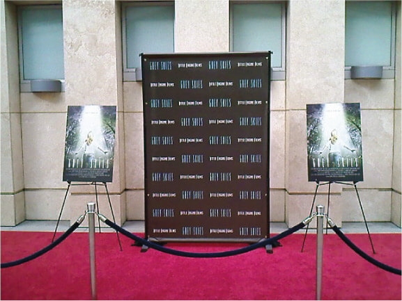 8 X 4 Step And Repeat Custom Backdrop For Red Carpet