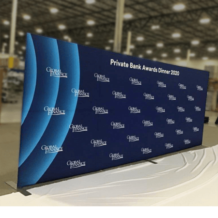 20 foot fabric stretch display