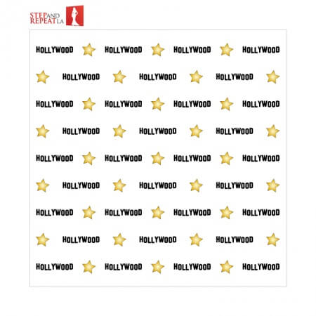 Hollywood Step and Repeat Rental Banner