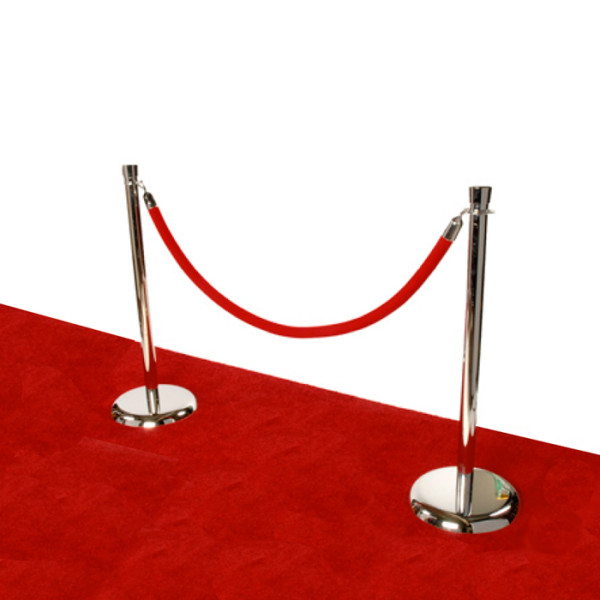 Stanchion Rope Rental For Step And Repeat Red Carpet