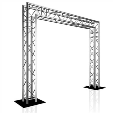 Truss displays available from Step and Repeat LA