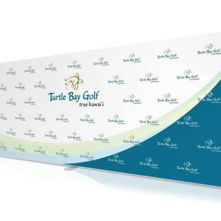 8 by 20 foot Fabric Stretch Display