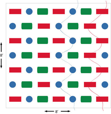 3B Snake Pattern