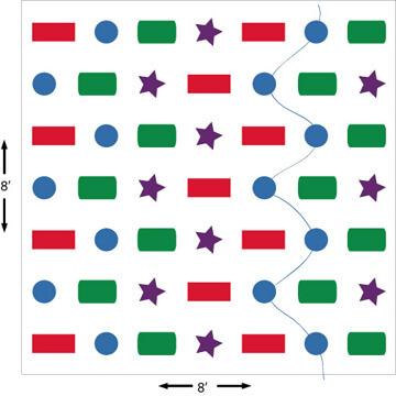 4B Snake Pattern