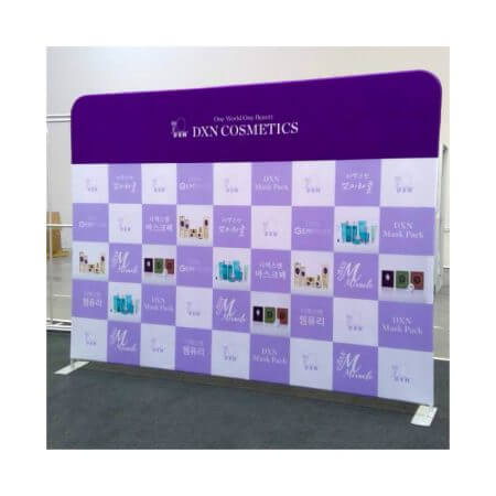 8' x 10' Fabric stretch display