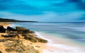 Beach Cove Landscape Print