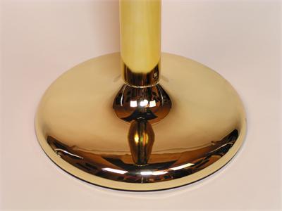 Brass Plastic Stanchion Base