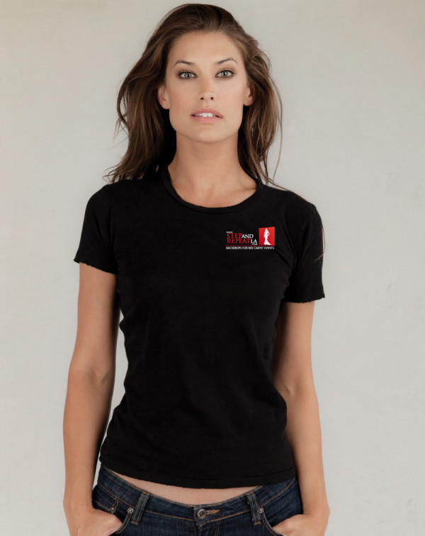 black t shirt model woman - photo #5