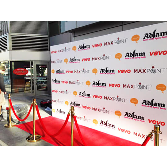 Photo Backdrop For Red Carpet Event