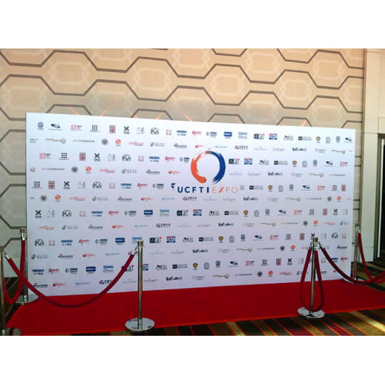 Celebrity Media Wall 8x20Step And Repeat LA
