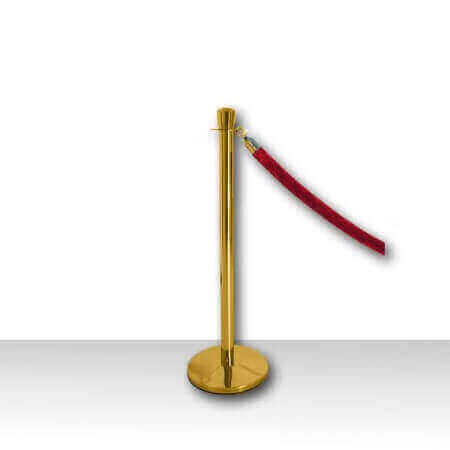 Polished Brass Stanchion