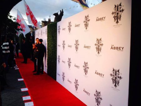 A beautiful, custom Hedge Wall/Media Wall combo for The Abbey
