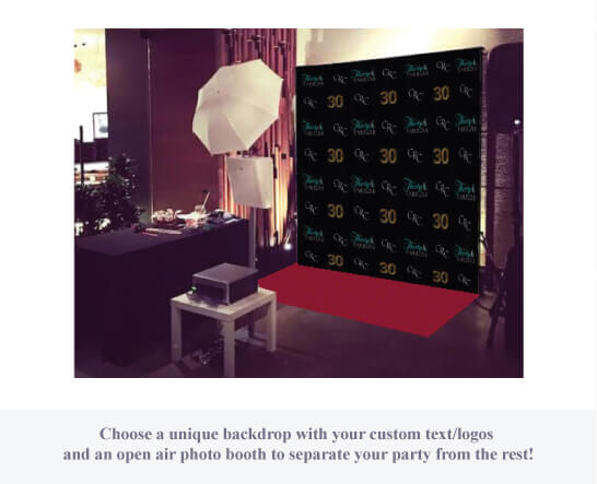 Photo Booth-Set up
