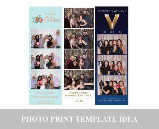 Photo Template Card - Vertical Strip