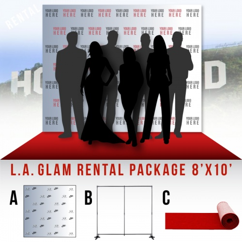 Glam Rental Package 8'x10'