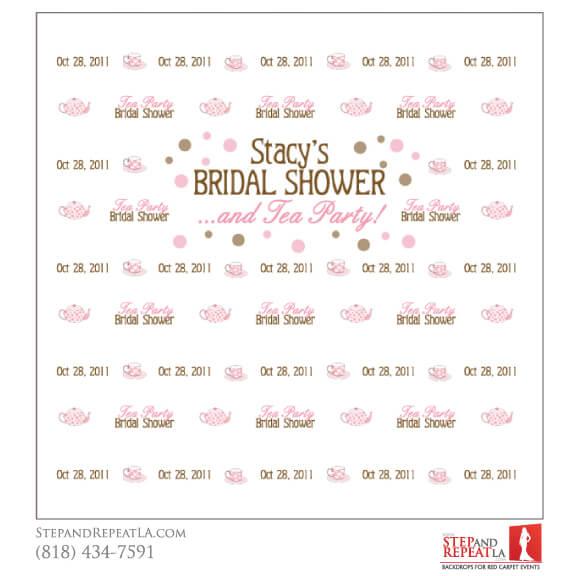 stacys tea party bridal shower design