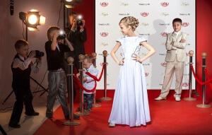 Red Carpet Backdrops for Kids