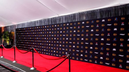 A huge Media Wall for the Golden Screen Awards