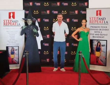 Trade show package designed for Halloween Booths by Step and Repeat LA