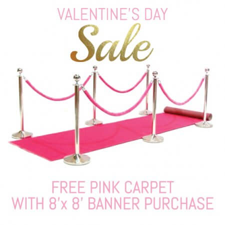 Valentine's Day Pink Carpet Special