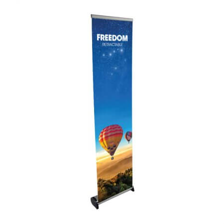 freedom retractable banner
