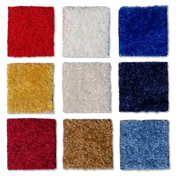 Main carpet swatches