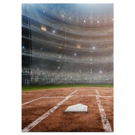 Baseball Field banner design, for your baseball event!