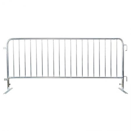 Crowd control steel barricade