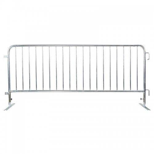 Crowd control steel barricade