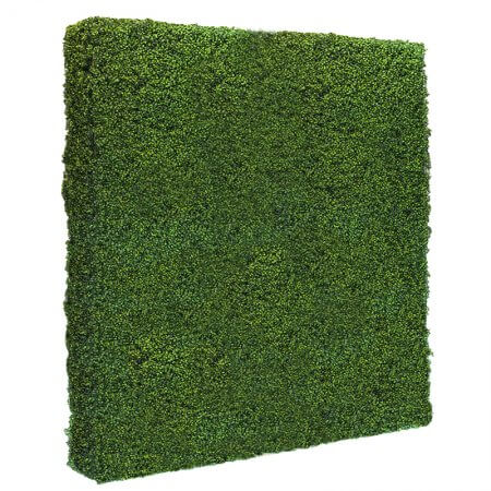 Double 4 by 8 foot Hedge Wall