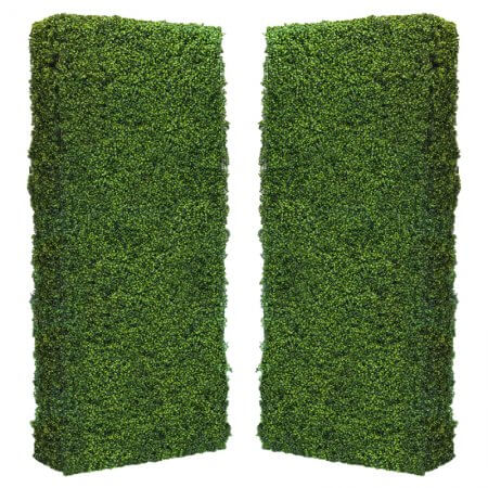 4 by 8 foot Hedge Walls