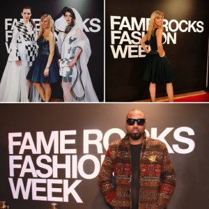 We printed this huge backdrop for Fame Rocks Fashion Week, celebrating 10 years of outstanding fashion.