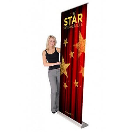 star retractable banner stand