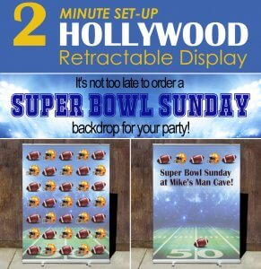 Get your Super Bowl Sunday backdrops!