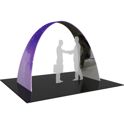 Formulate 10 Foot Arch Tension Fabric Structure