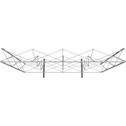 4 by 3 Foot Embrace Frame - Top View