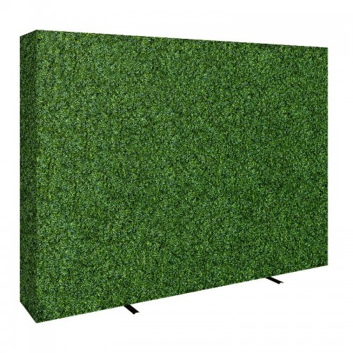 Beautiful Fabric Hedge Wall