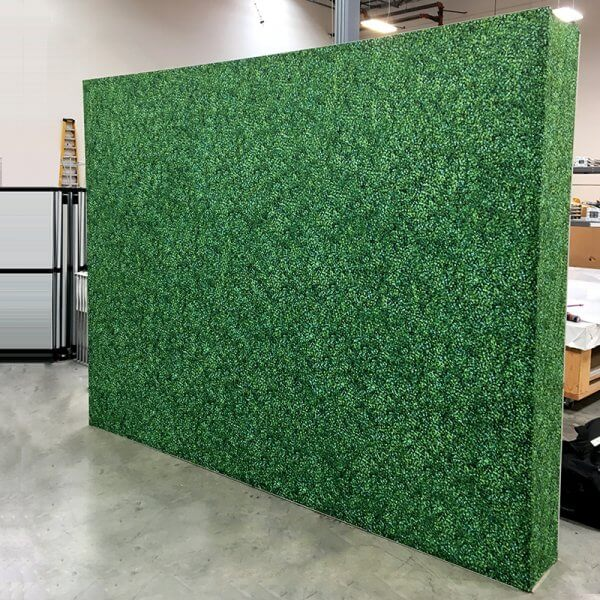 Fabric Hedge Wall Popup Rental Step And Repeat La