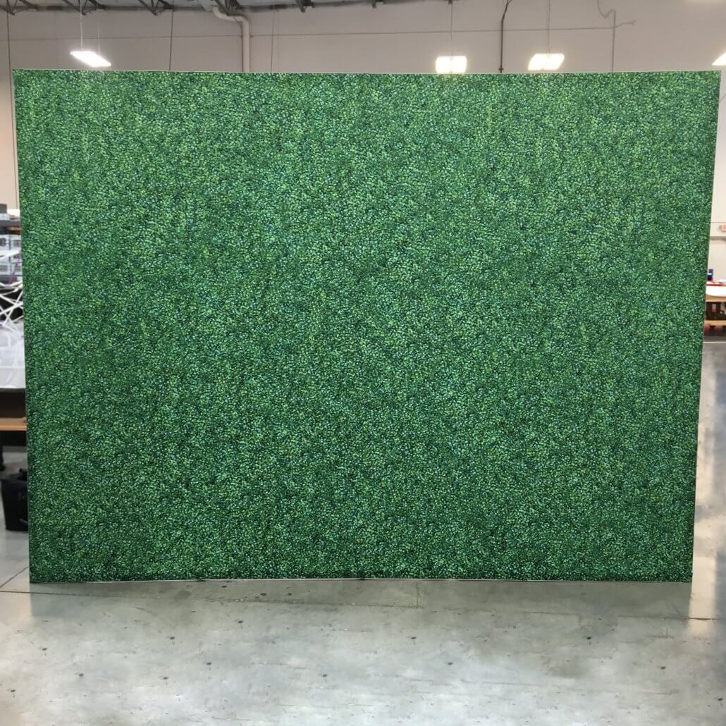 Fabric Hedge Wall Embrace Step And Repeat Lastep And