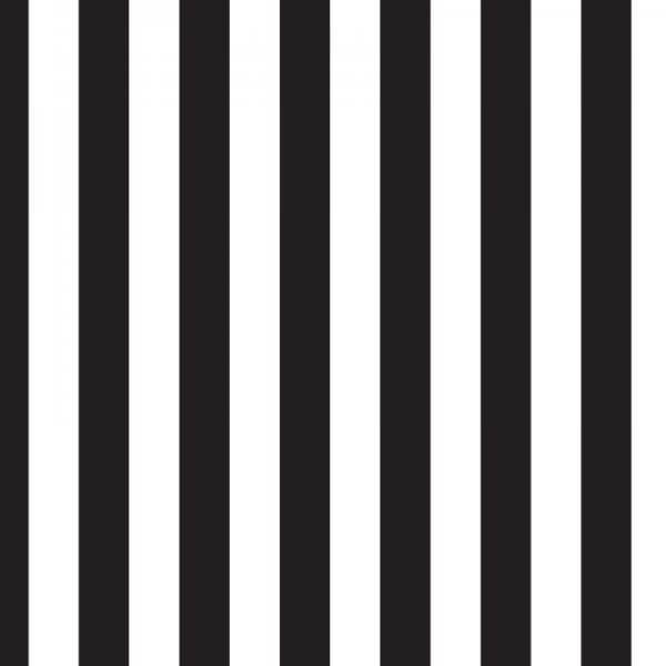 Black striped double sided fabric stretch display
