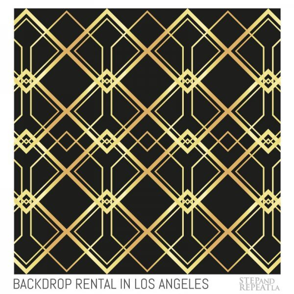 Gatsby Rental Backdrop