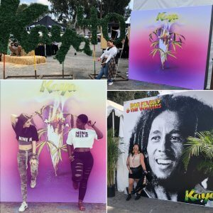 We did these awesome media walls for Kaya Fest 2018!