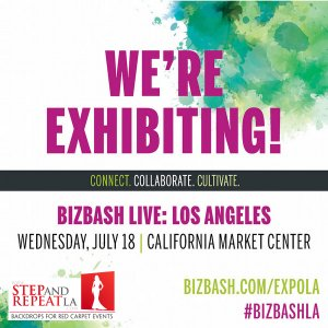 COME VISIT US AT BOOTH 122 and let us roll out the red carpet for your next event!