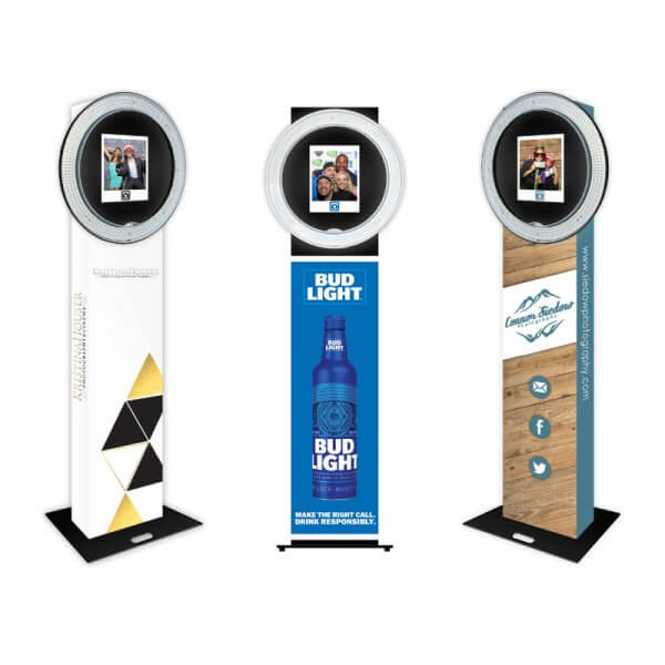 Custom Open Air Photo Booth Machine Wraps