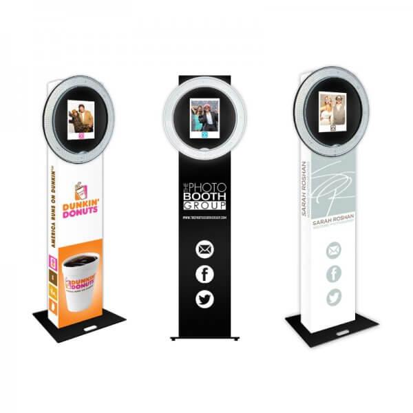 Custom Open Air Photo Booth Machine Wraps