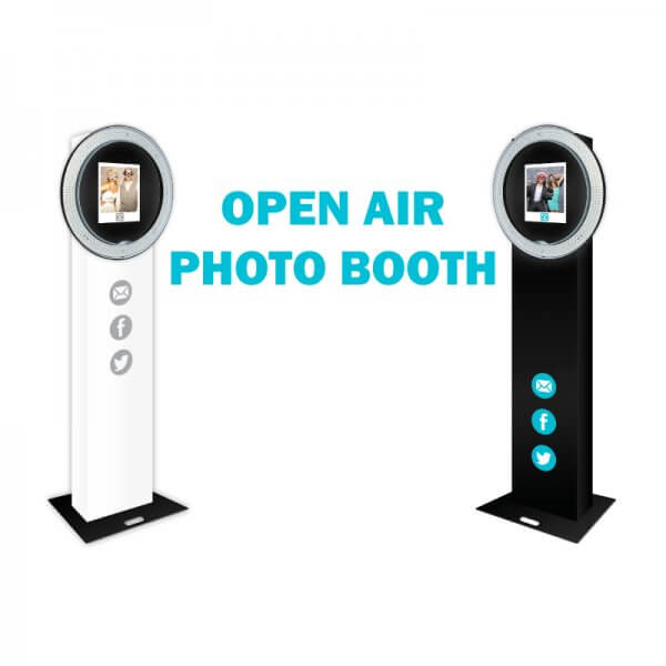 Open Air Photo Booth Machine