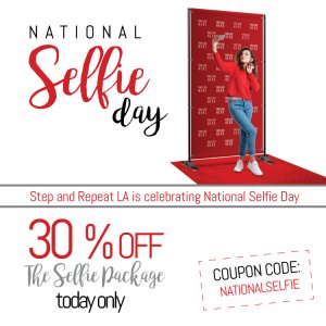 It's National Selfie Day!
